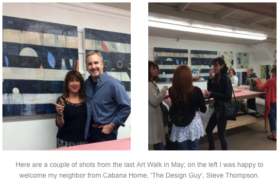 SB Funk Zone Art Walk May 2015