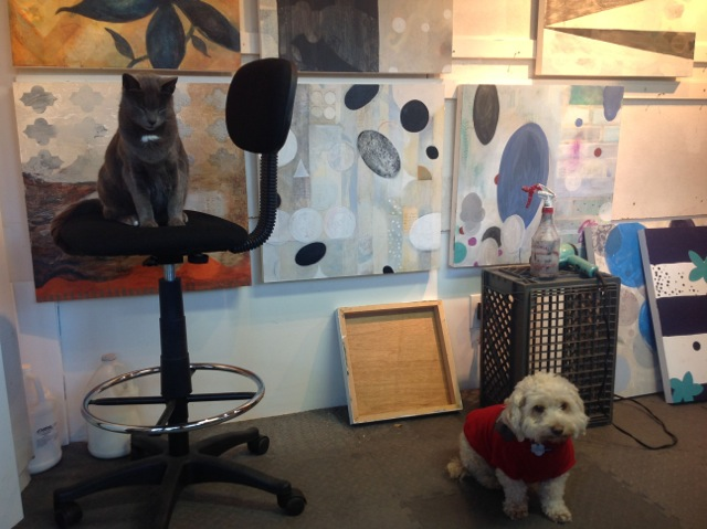 BlueBoy & Stan in studio