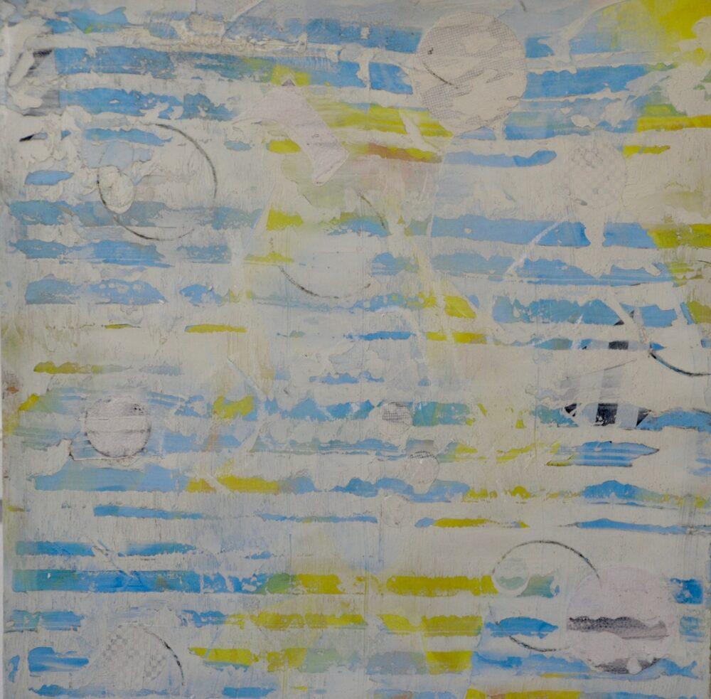 Blue Skymap by Karen Lehrer