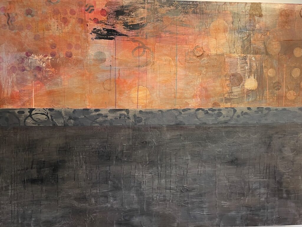 Sunset & Shadow by Karen Lehrer