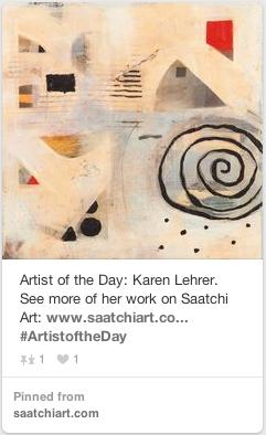 Artist of the Day Saatchi Art Featuring Karen Lehrer