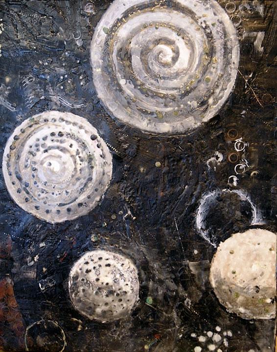 Spheres of Influence II by Karen Lehrer