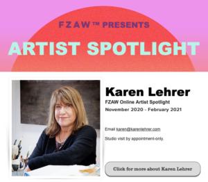 Funk Zone Artist Spotlight Karen Lehrer